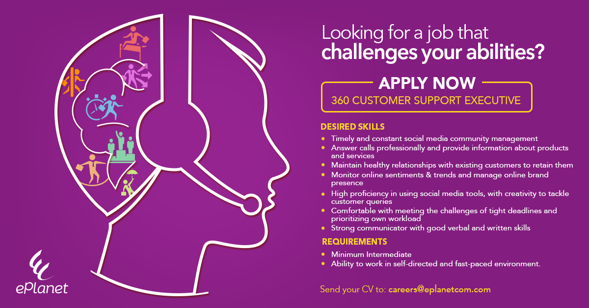 360 Customer Support Executive
